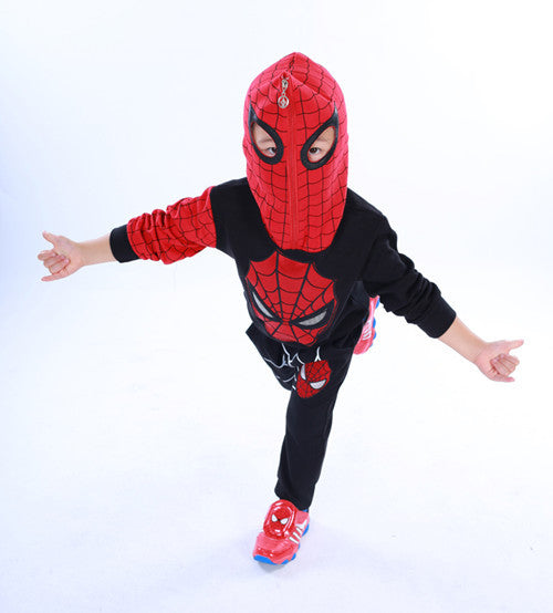 Spiderman Children Boys Clothing set Baby Boy Spider man Sports Suits 3-7 Years Kids 2pcs Sets Spring Autumn Clothes Tracksuits
