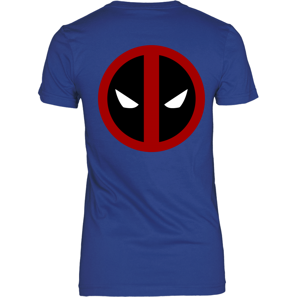 Deadpool T-Shirt Double side printing