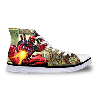 Custom Made Deadpool Shoes