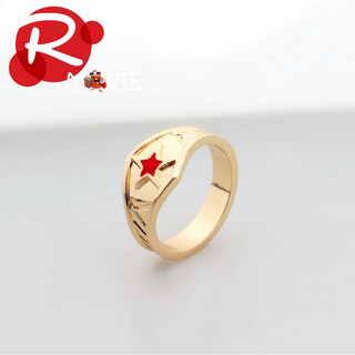 Wonder Woman Tiara Ring with Red Star