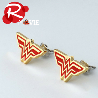 Wonder Woman Earrings Justice League Style Stud Earrings