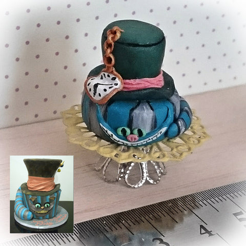 Replica Miniature Mad Hatter Cake