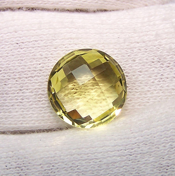 Masterpiece Collection :  Amazing Lemon Topaz Briolette Cut, Calibrated 12 mm Round, 100 % Natural Loose Gemstone Per Wholesale Sample Order Lot/ Parcel