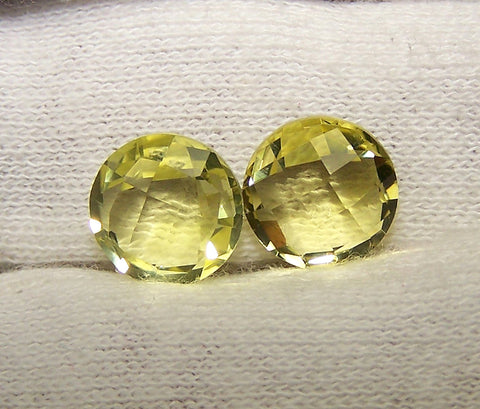 Masterpiece Collection : Amazing Lemon Topaz Briolette Cut, Calibrated 10 mm Round, 100 % Natural Loose Gemstone Per Wholesale Sample Order Lot/ Parcel