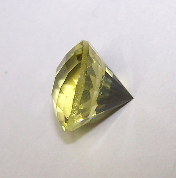 Masterpiece Collection : Amazing Lemon Topaz Checkered Board Top with Diamond Cut, Calibrated 12 x 12 mm Round, 100 % Natural Loose Gemstone Per Wholesale Sample Order Lot/ Parcel