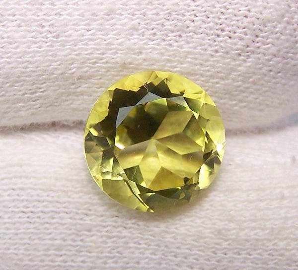 Masterpiece Collection : Amazing Lemon Topaz Magna Cut, Calibrated 12 x 12 mm Round, 100 % Natural Loose Gemstone Per Wholesale Sample Order Lot/ Parcel