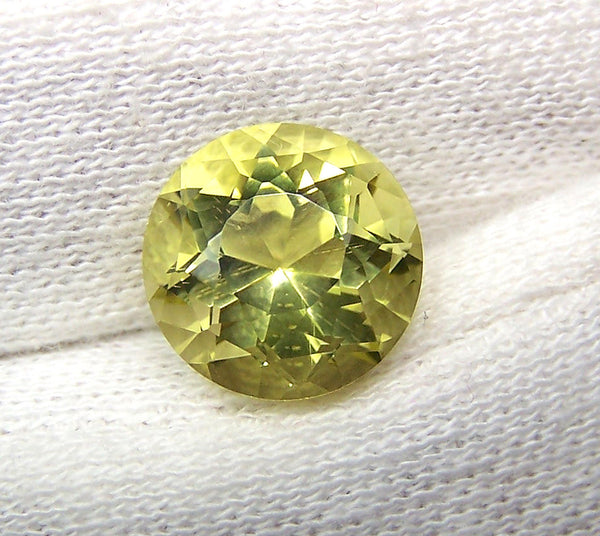 Masterpiece Collection : Amazing Lemon Topaz American Cut Round, Calibrated 12 x 12 mm Round, 100 % Natural Loose Gemstone Per Wholesale Sample Order Lot/ Parcel