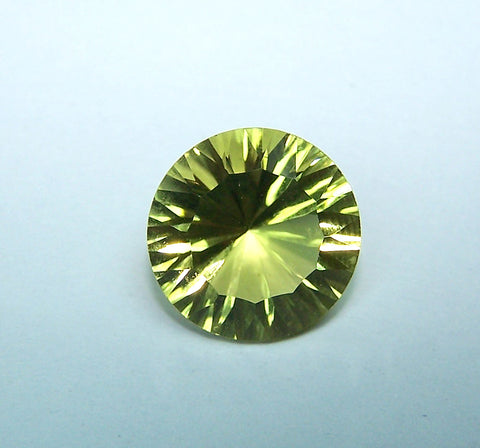 Masterpiece Collection : Amazing Lemon Topaz Concave Cut Round, Calibrated 12 x 12 mm Round, 100 % Natural Loose Gemstone Per Wholesale Sample Order Lot/ Parcel