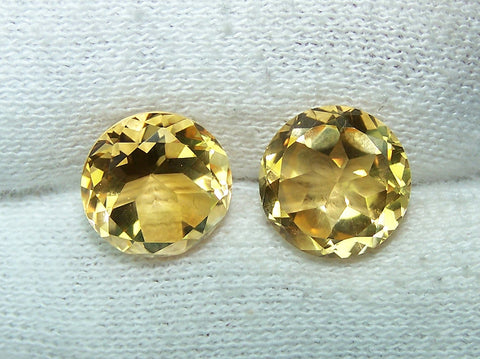 Masterpiece Collection : Amazing Golden Topaz Star Cut Round, Calibrated 10 x 10 mm Round, 100 % Natural Loose Gemstone Per Wholesale Sample Order Lot/ Parcel
