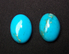 One Oval Shaped 100/% Natural Sleeping Beauty Turquoise Cabochon 12x16mm