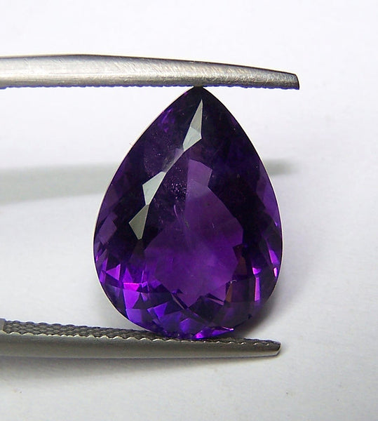 Amazing Hot Purple-Blue Shade of African Amethyst, Pear Cut Gems, 100 % Natural Loose Wholesale Lot/Parcel AAA