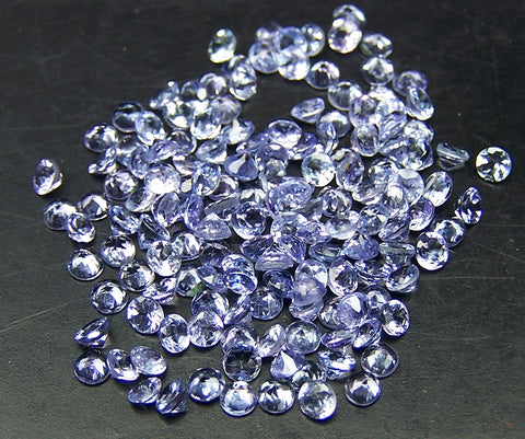 Amazing Hot Tanzanite Masterpiece Calibrated 2 mm Round Cut Gems, 100 % Natural Loose Gemstone AAA