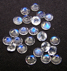 10 pcs AAAA Rainbow MOONSTONE High Quality So Gorgeous Marquise Cut  Stone Super Sparkle Full Blue Flashy Fire size 5x10 mm