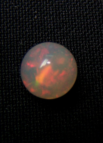 Masterpiece Ultra Rare Insane Multi Rainbow Fire Color Play Ethiopian Welo Opal Smooth 8 MM Round Sphere Balls, (5 Pcs) AAA Wholesale Lot / Parcel - Order as per quantity required