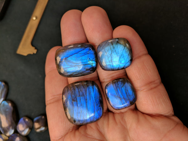 679.40 cts Blue Flashy Labradorite Free Form Cabochons Gems, Wholesale Parcel/Lot of Free Form Loose Gems,100 % Natural AAA