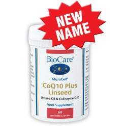 BioCare CoQ10 plus Linseed 60 caps
