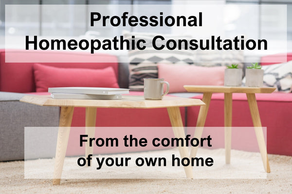 Consultation with Bespoke Homeopathic Prescription