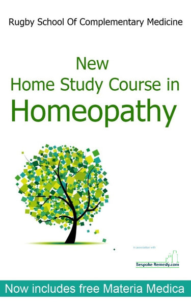 New Home Study Course in Homeopathy
