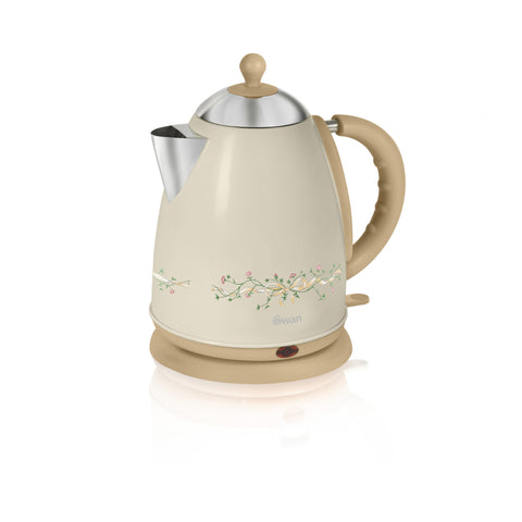 Swan 1.7 Litre Eternal Beau Pattern Jug Kettle