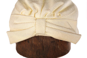 Jacoll vintage silk yellow hat