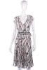 Beautiful Day Birger et Mikkelsen wrap over style dress size M