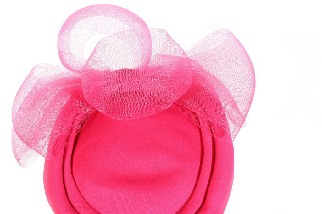 Additions London pink fascinator detail