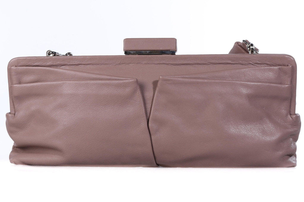 Lupo soft leather handbag back