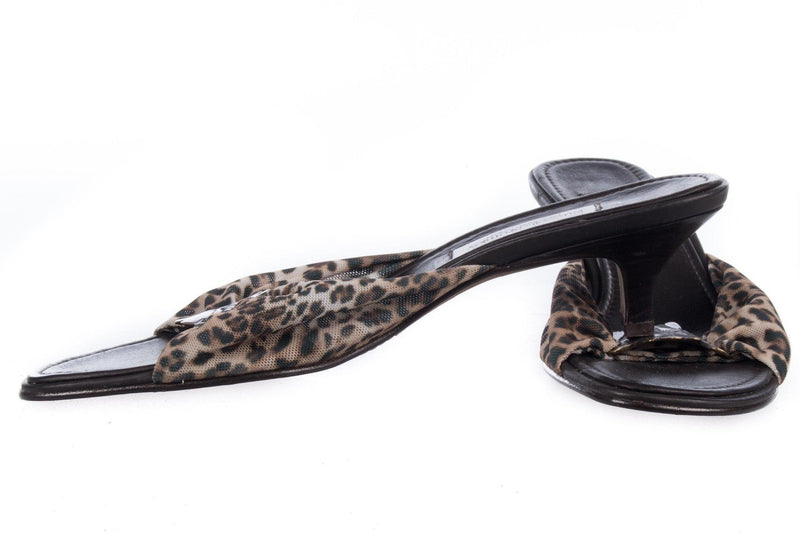 Donald J Pliner for Russell and Bromley Leopard Print Shoes