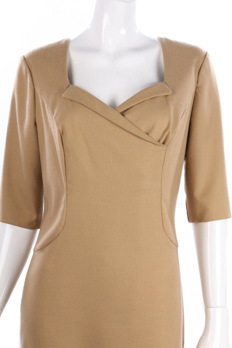 Kenneth Cole dress size 12 camel in colour