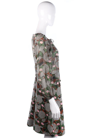 Montigo Bay Floral Print 1950s/60s Vintage Dress UK 10/12