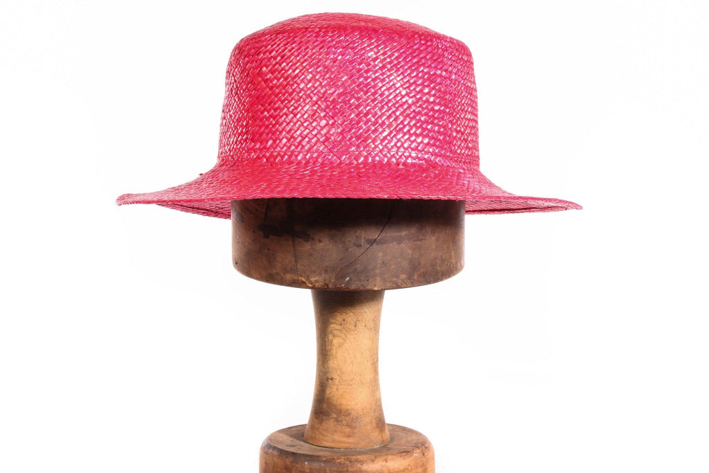 Bermona Trend red straw hat