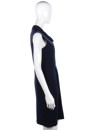 Jigsaw navy blue dress size 12, never worn