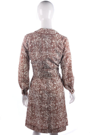 Fabulous Gerald Davies vintage 1960's dress and jacket size S/M