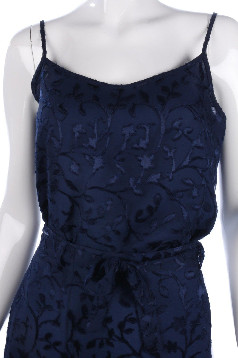 Betty Barclay Three Piece Skirt Top and Jacket Dark Blue Size 10