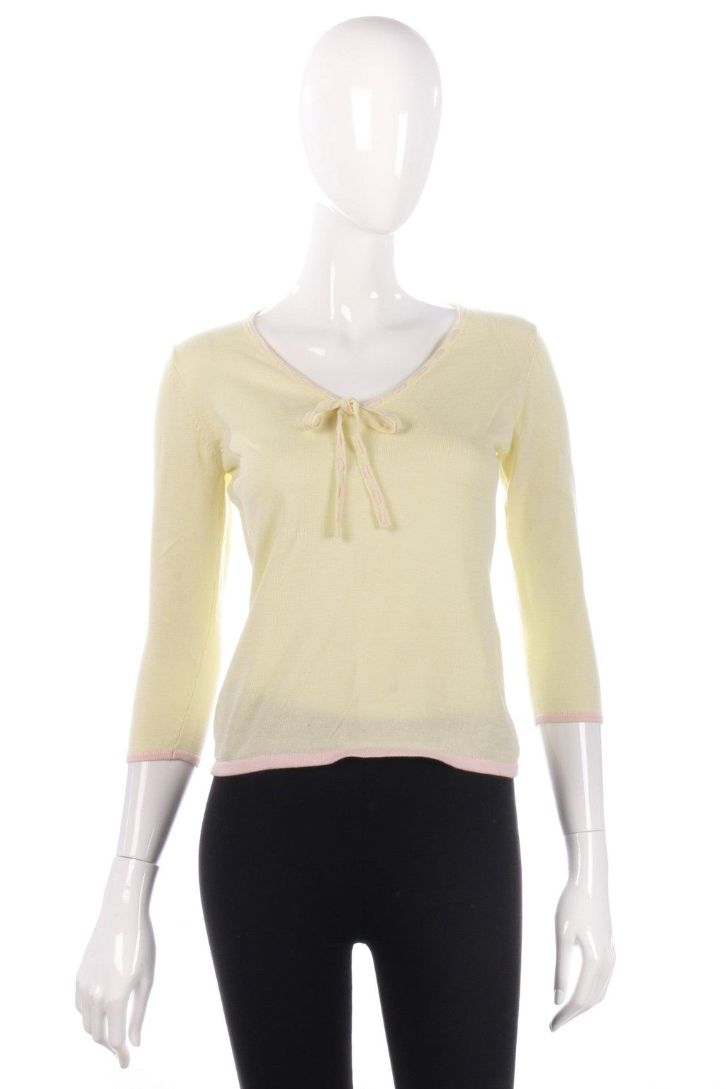 Paul Costello Dressage yellow top size 8/10