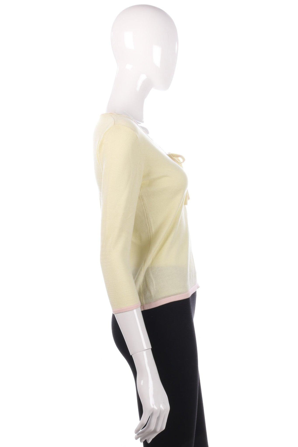 Paul Costello Dressage yellow top size 8/10 side