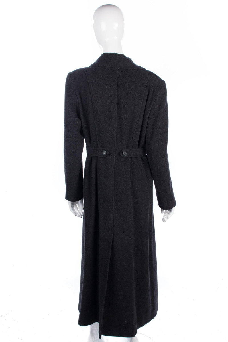 Paul Berman dark grey winter wool coat size M