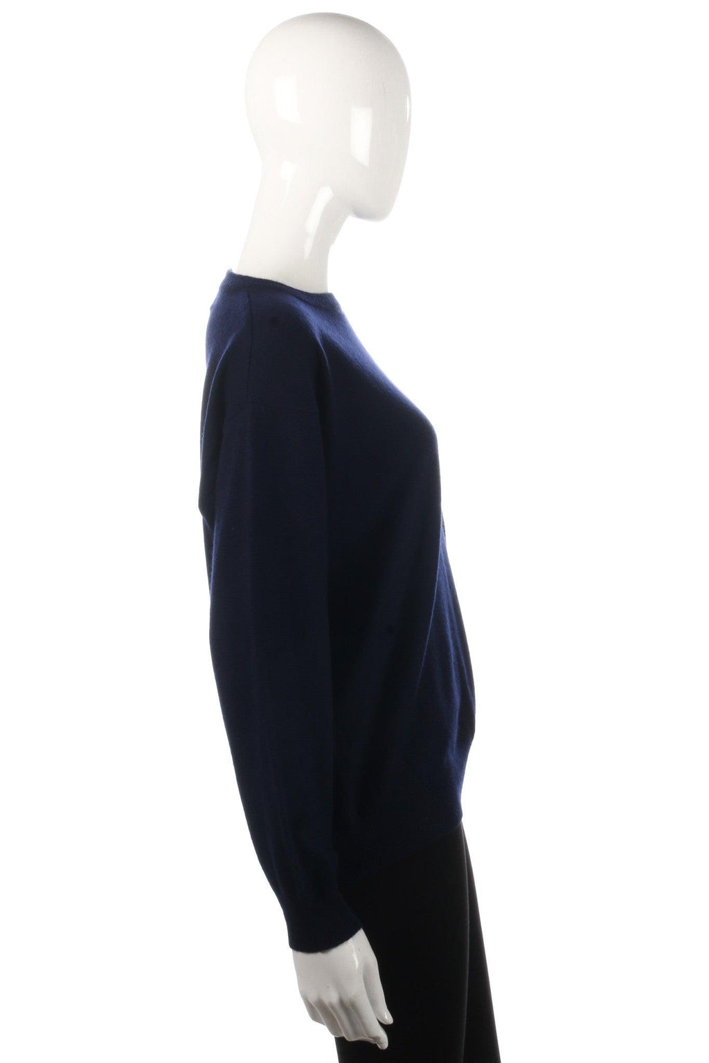 Compliments dark blue jumper size L side