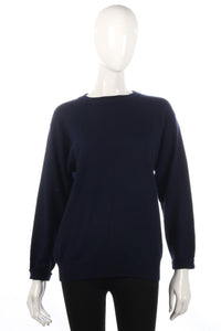 Antartex dark blue jumper size 8/10