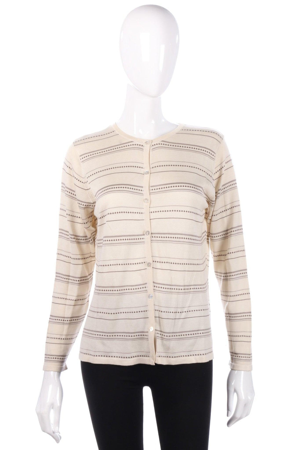 Marks and Spencer striped cardigan size 12