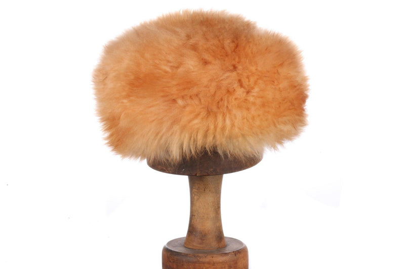 Miss Dolores faux fur hat, fab colour
