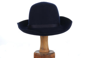 Laura Ashley navy blue hat
