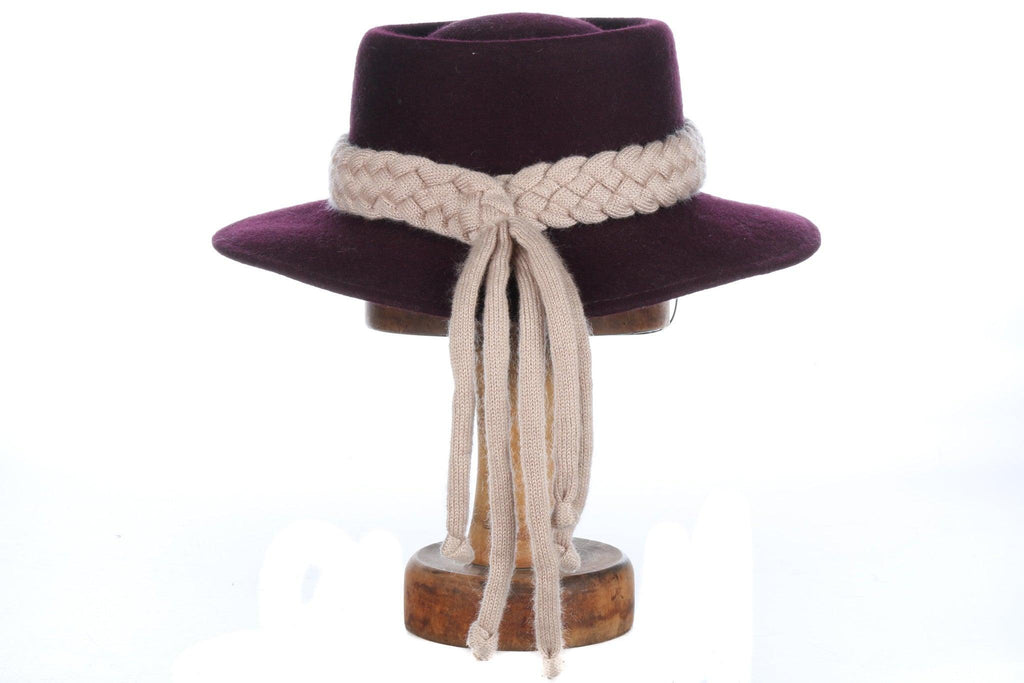 Fabulous German vintage wool hat