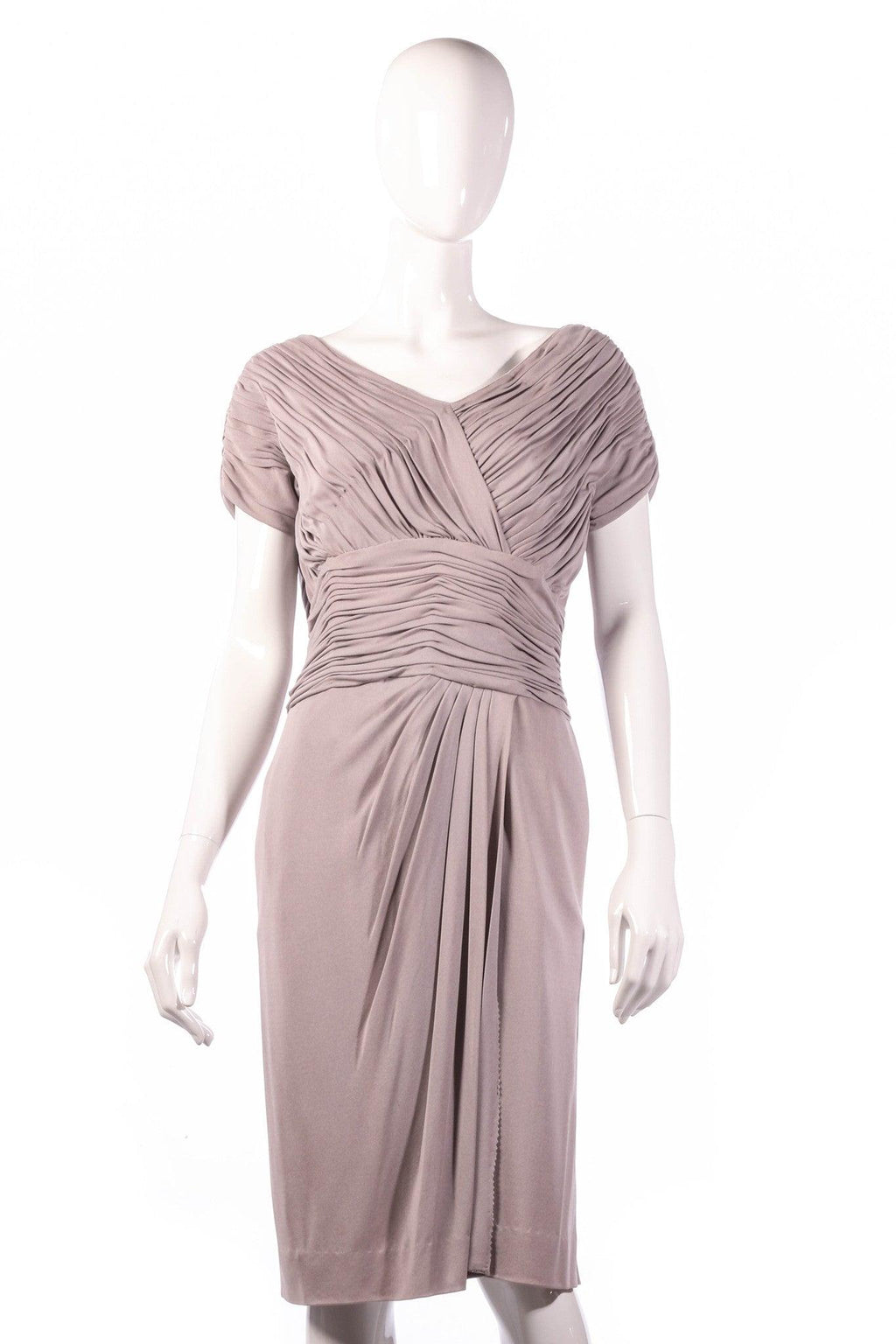 Light grey formal dress