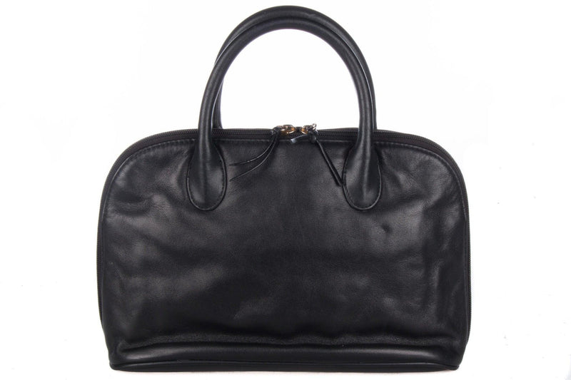 Giani Berinini black Italian leather handbag