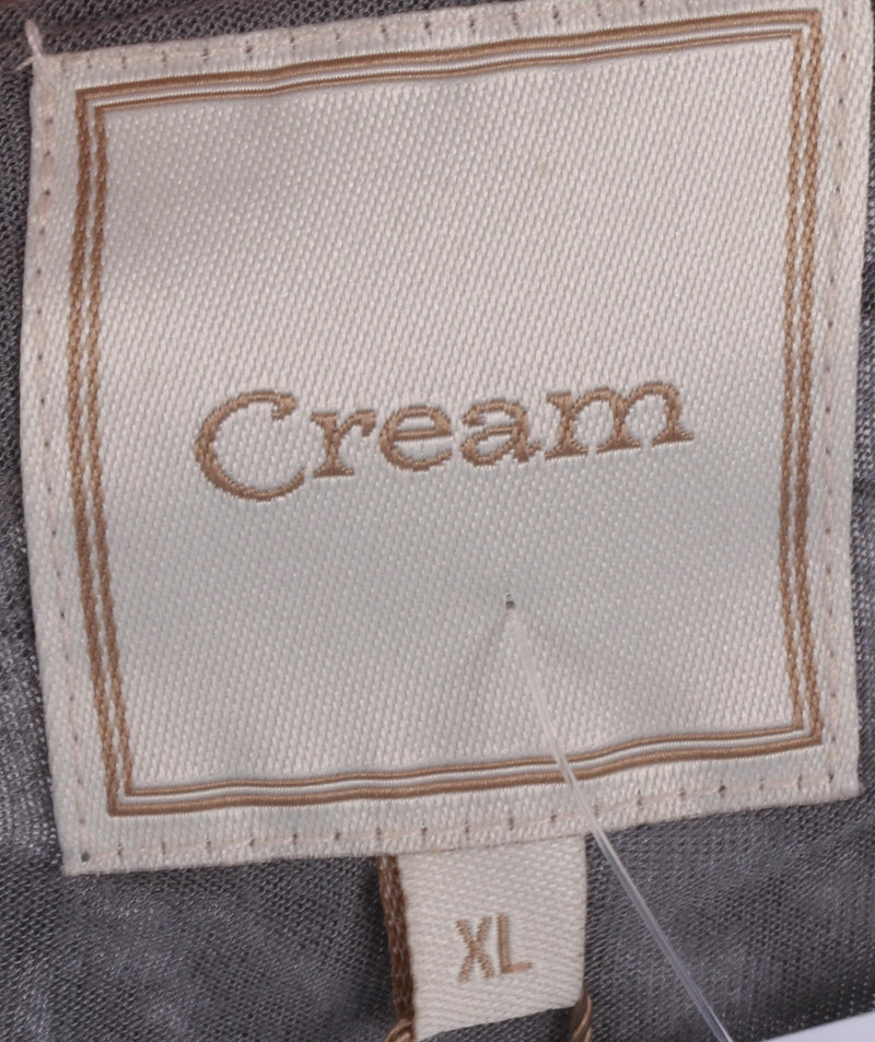 CREAM Stella Cardigan Grey Lace BNWT Size XL