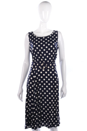 Vintage polkadot summer dress size M