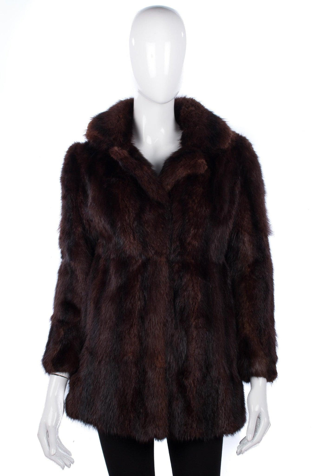 Vintage mink fur jacket by Christos A Mitsakos
