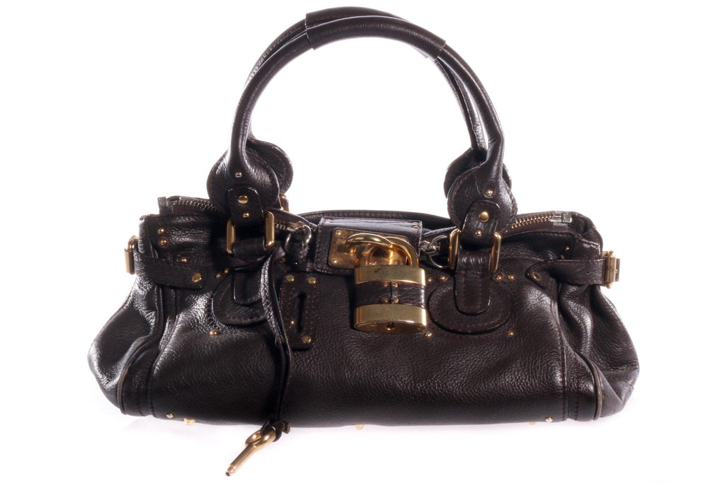 Chloe dark brown handbag