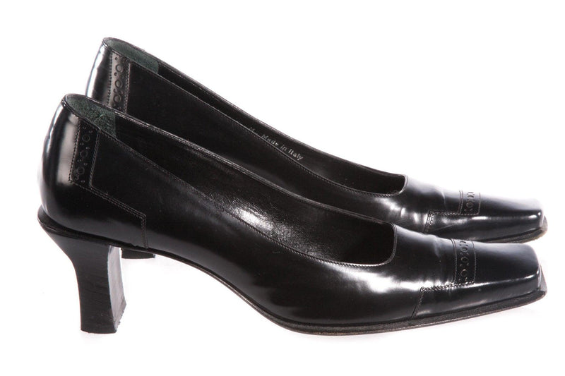 Bally Black Court shoes size 35 1/2